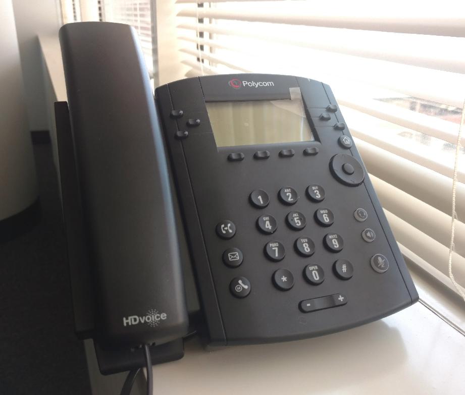 Polycom VVX300 phone